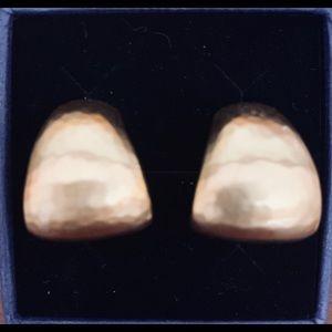Brighton Gold 1/2 Hoop Earrings